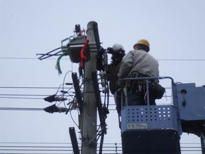 京都市伏見区 ~引き込み柱PAS・LA・VT・CT・PC取替~のサムネイル