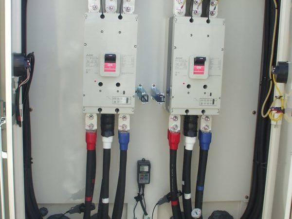 東大阪工場 低圧開閉器盤製作・設置