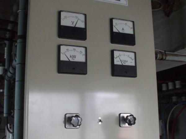 尼崎市の事務所ビル,電気室改修工事